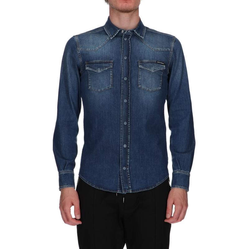 Camicia in Jeans Dolce & Gabbana
