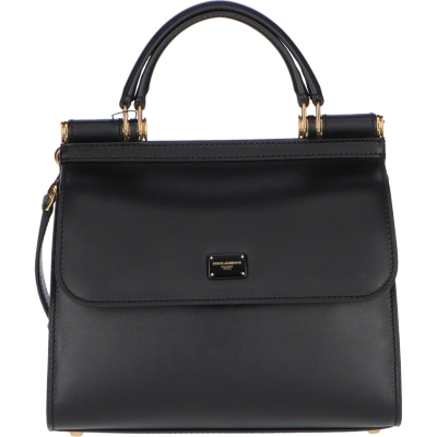DOLCE & GABBANA SICILY 58 LEATHER BAG