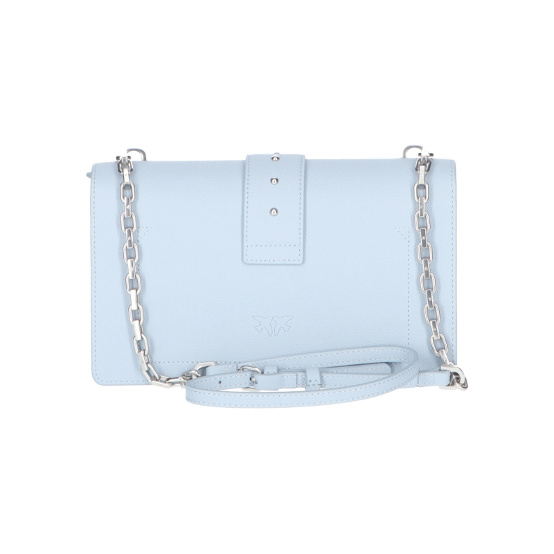 PINKO LOVE CLASSIC SIMPLY LEATHER BAG