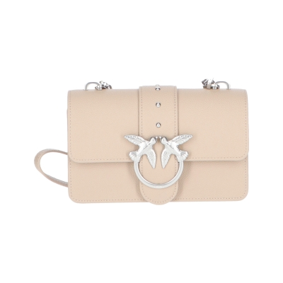 PINKO LOVE MINI SIMPLY LEATHER BAG