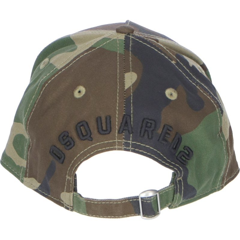 DSQUARED COTTON BASEBALL CAP