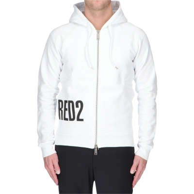 Hooded Sweatshirt With Zipper DSQUARED2