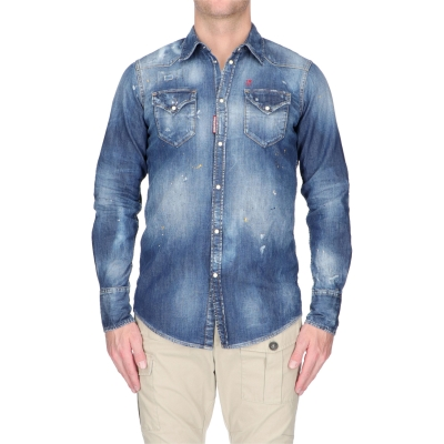CAMICIA DENIM DSQUARED2
