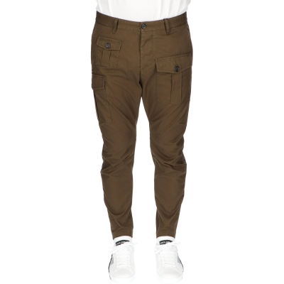 Twill Sexy Cargo Pants DSQUARED2