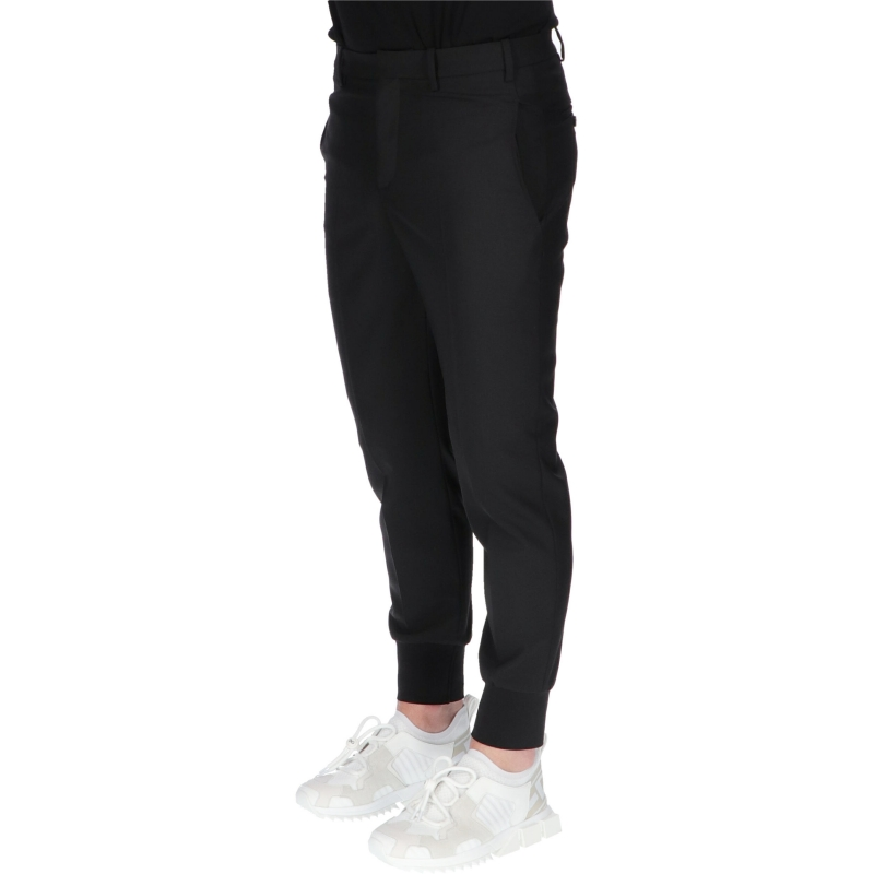 RIB CUFF TRAVEL TROUSERS NEIL BARRETT