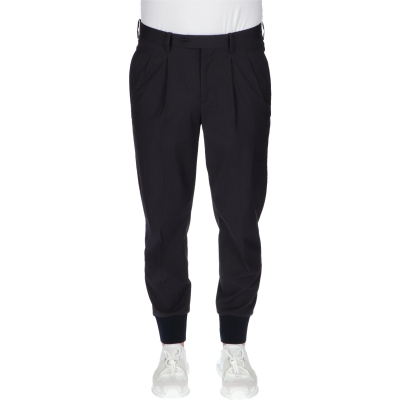 2 PLEATS RIB CUFF TRAVEL TROUSERS NEIL BARRETT