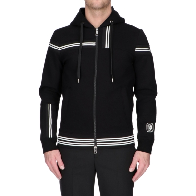 ZIP-UP HOODIE JACKET  NEIL BARRETT