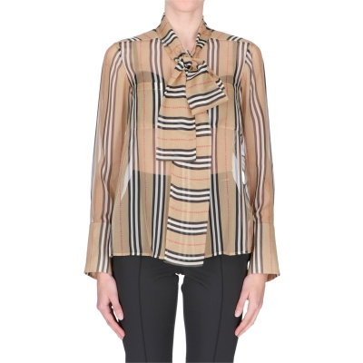 AMELIE BURBERRY BLOUSE