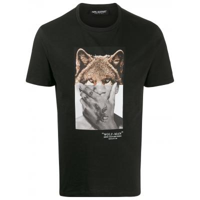 NEIL BARRETT WOLF-MAN T-SHIRT