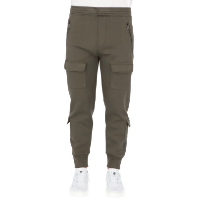 NEIL BARRET SKINNY CARGO SWEATPANTS