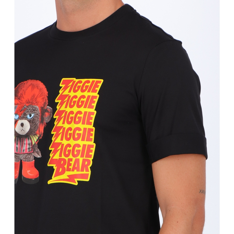 T-SHIRT NEIL BARRET CON STAMPA ZIGGIE BEAR