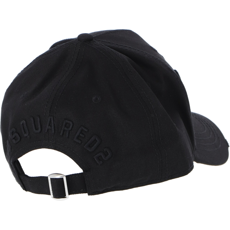 DSQUARED EMBROIDERED ICON BASEBALL CAP