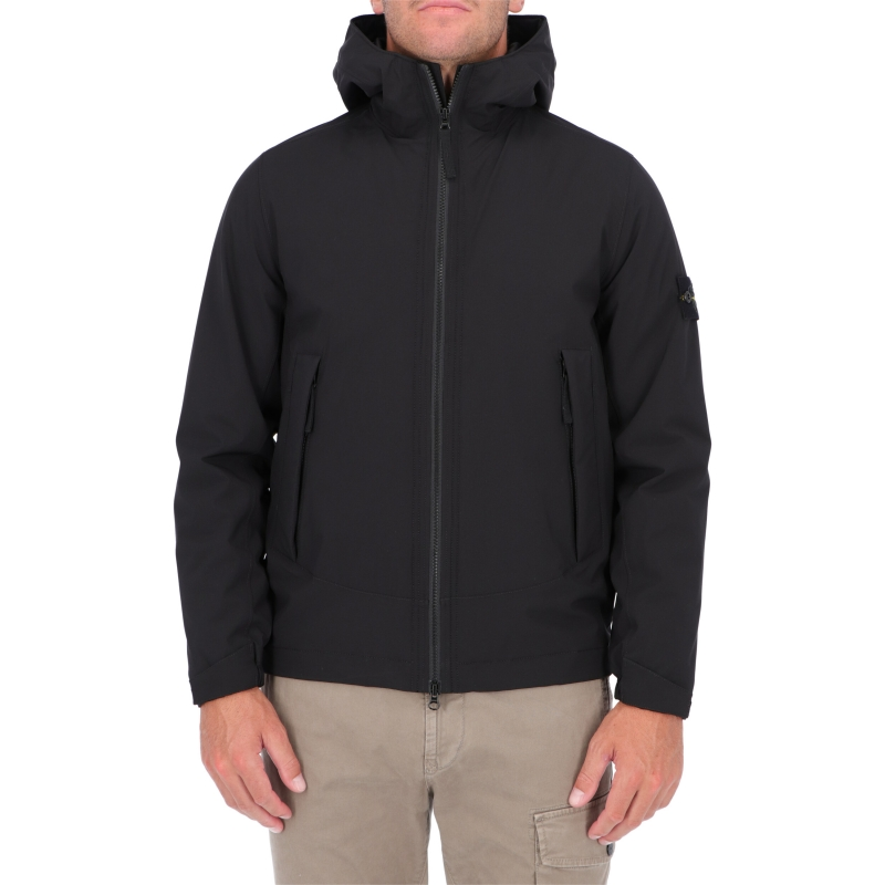 STONE ISLAND SOFT SHELL-R WITH PRIMALOFT® INSULATION