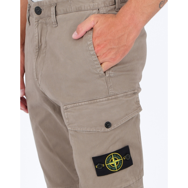 STONE ISLAND STRECH COTTON T.CO+'OLD CARGO PANTS