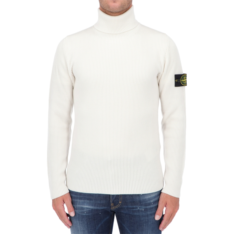 STONE ISLAN TURTLENECK SWEATER IN WOOLEN FULL RIB