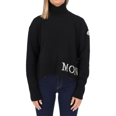 MONCLER TRICOTT HIGH NECK PULLOVER