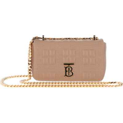 BURBERRY LOLA MATELASSE' LEATHER BAG
