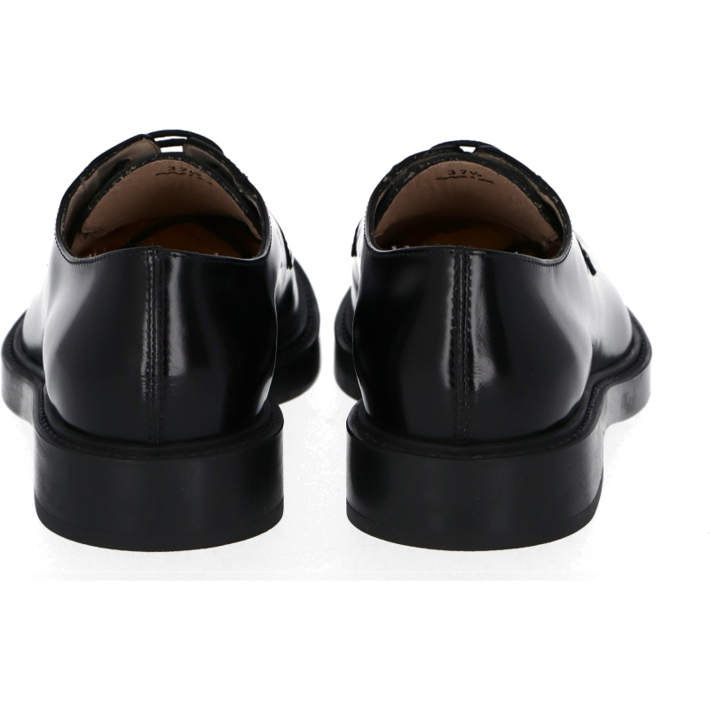 TOD'S LEATHER BROGUE WITH LOGO