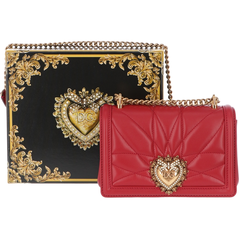 BORSA MINI DEVOTION IN PELLE DOLCE & GABBANA