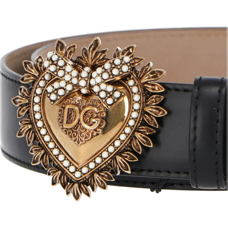 CINTURA DEVOTION IN PELLE DOLCE & GABBANA