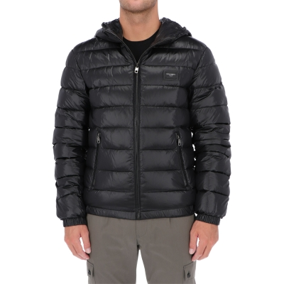 DOLCE & GABBANA DOWN JACKET WITH HOOD