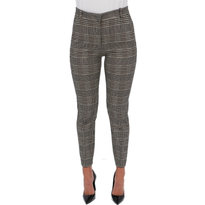 PINKO BELLO 94 MILANO STITCH FABRIC TROUSERS