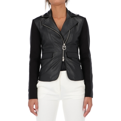 PINKO FRANCO LEATHER JACKET