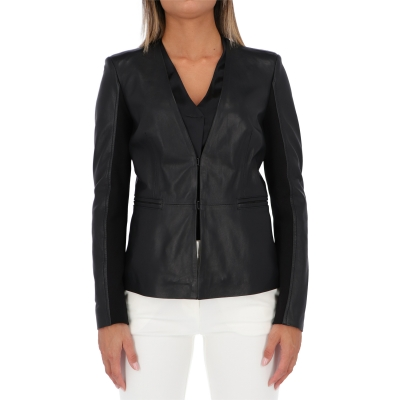 PINKO BRADLEY TWO MATERIAL JACKET