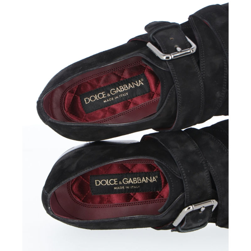 SCARPA GIOTTO MONK IN SUEDE DOLCE & GABBANA