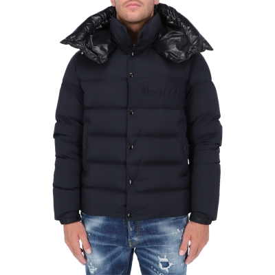 MONCLER AUBRAC LOUNGE SAISON NYLON DOWN JACKET