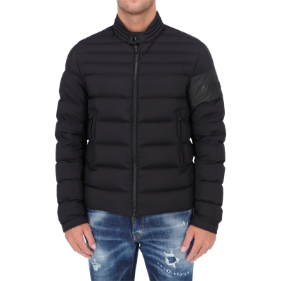 MONCLER ARREE LONGUE SAISON NYLON DOWN JACKET