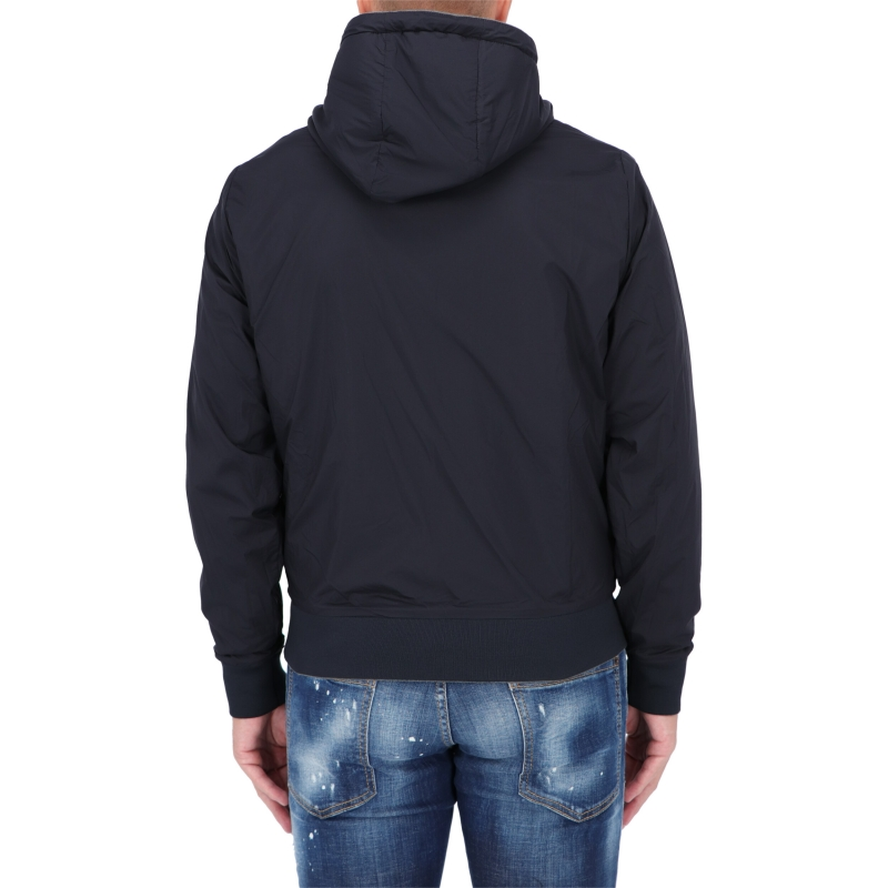 MONCLER TWO-FACE HOODED JACKET