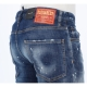 JEANS COOL GUY LAVAGGIO HOLY DARK DSQUARED2