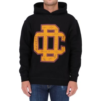 DSQUARED2 DC CREST HOODED SWEATSHIRT