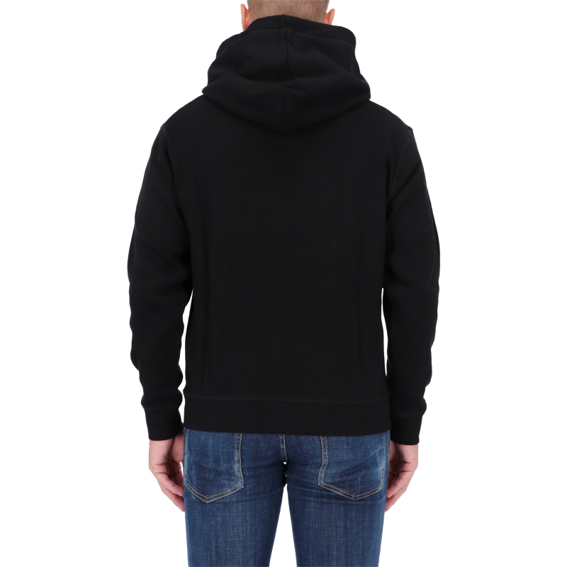 DSQUARED2 I LOVE D2 WINTER COTTON HOODIE