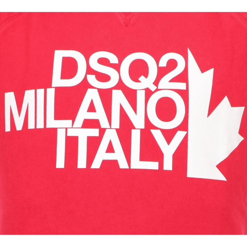 DSQUARED2 DSQ2 MILANO CREWNECK SWEATSHIRT