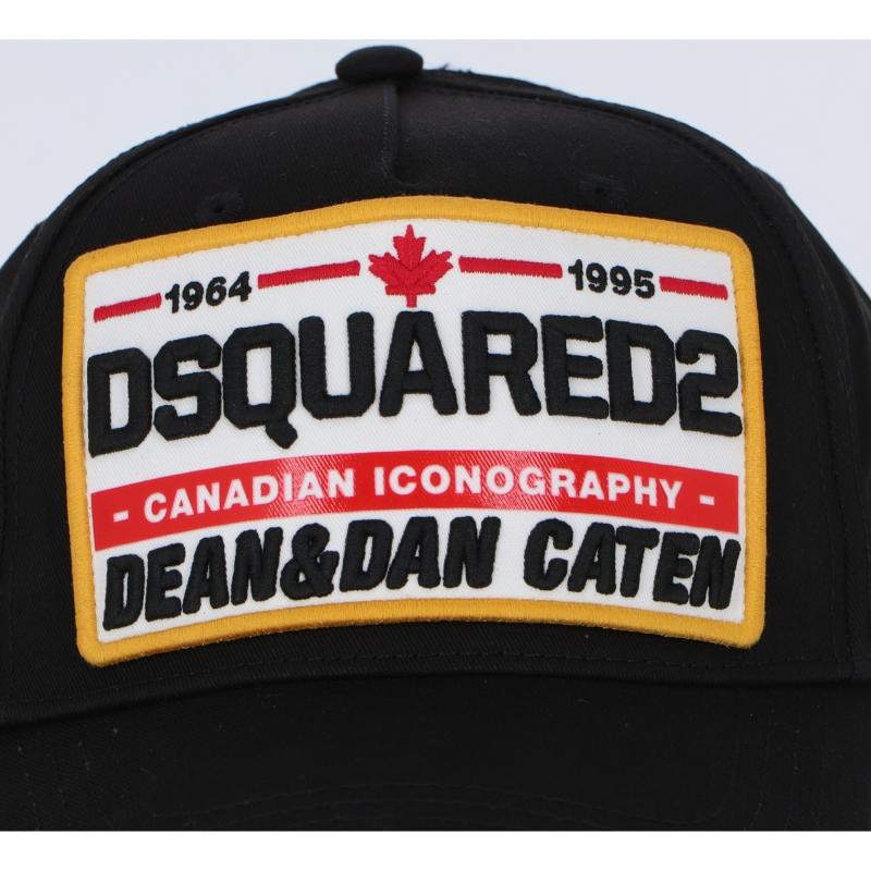 DSQUARED2 CANADIAN ICONOGRAPHY BASEBALL CAP