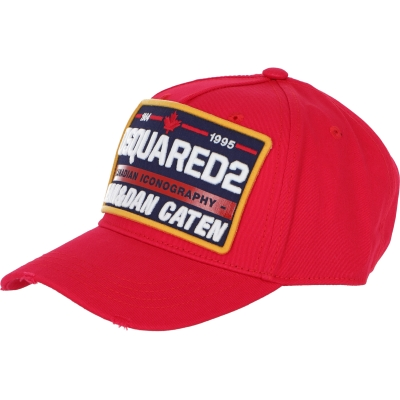 DSQUARED2 CANADIAN ICONOGRAPHY BASEBALL CAP