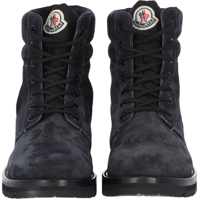 MONCLER VANCOUVER SUEDE AND NYLON BOOTS