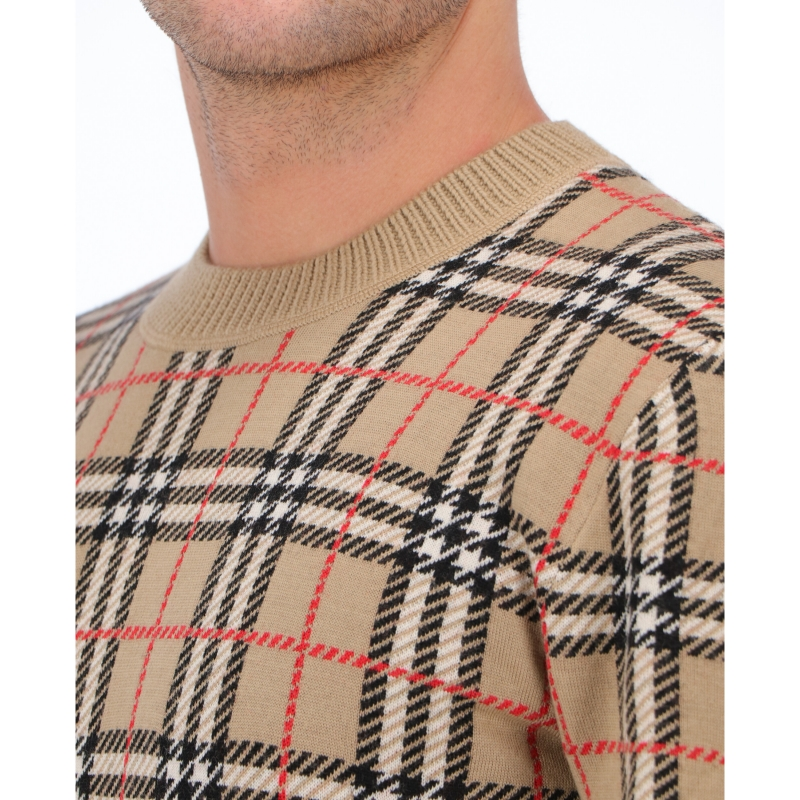 BURBERRY MERINO WOOL SWEATER