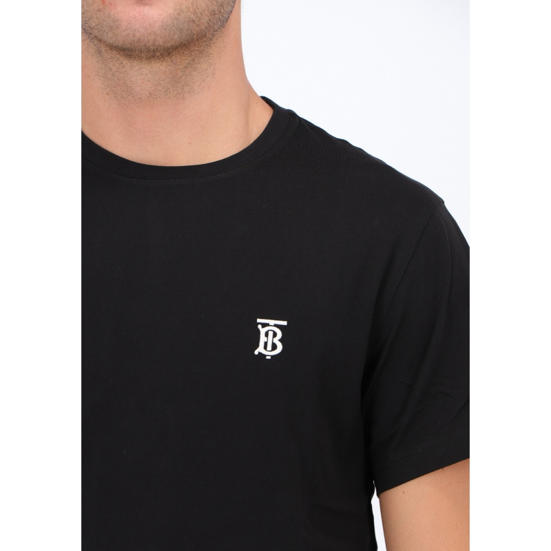 BURBERRY MONOGRAM MOTIF COTTON T-SHIRT