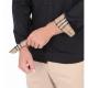 BURBERRY SLIM FIT MONOGRAM MOTIF STRECH COTTON POPLIN SHERWOOD SHIRT