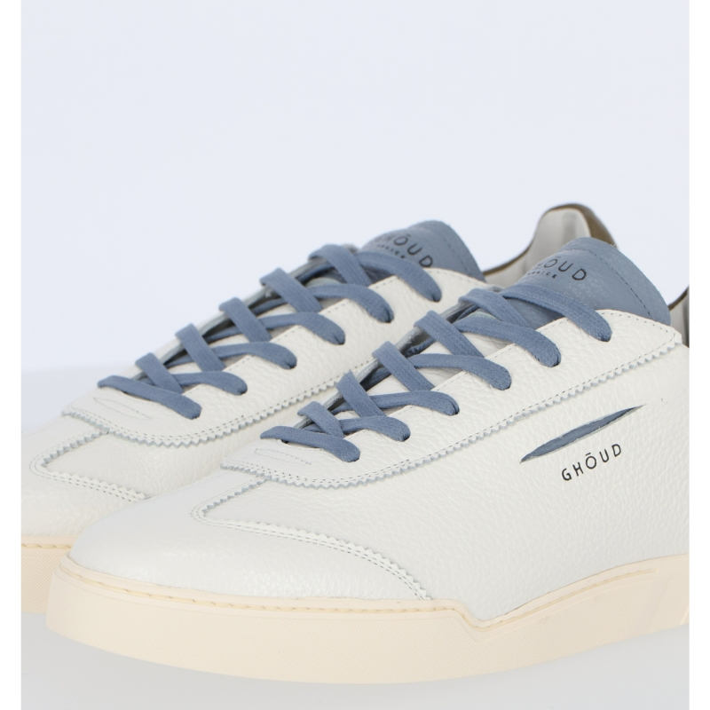 GHŌUD VENICE HAMMERED LEATHER SNEAKERS