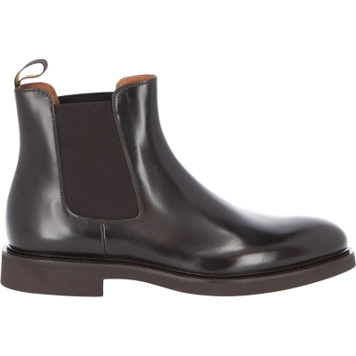 DOUCAL'S CALFSKIN LEATHER CHELSEA ANKLE BOOT