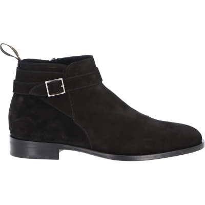 DOUCAL'S SUEDE BELT ANKLE BOOT