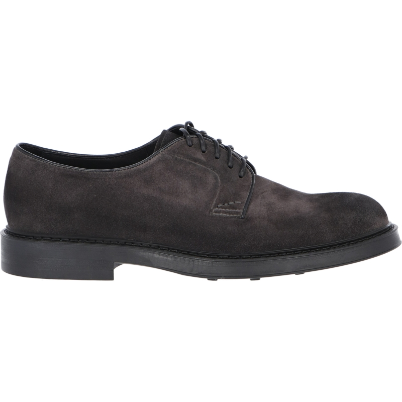 DOUCAL'S SUEDE FIVE-HOLE DERBY