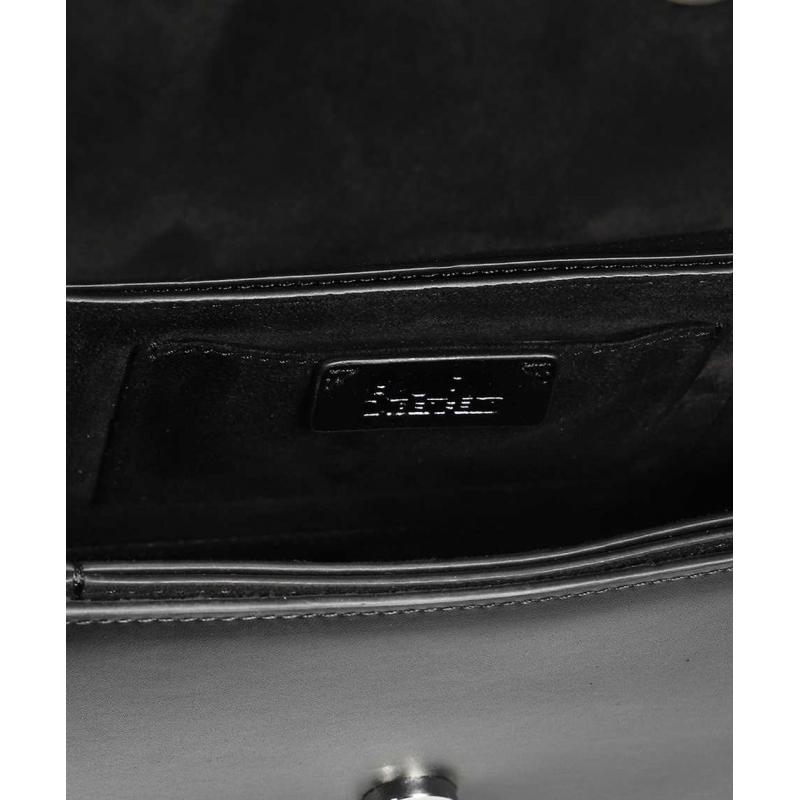 KARL LAGERFELD K/IKONIK CHOUPETTE SMALL LEATHER BAG