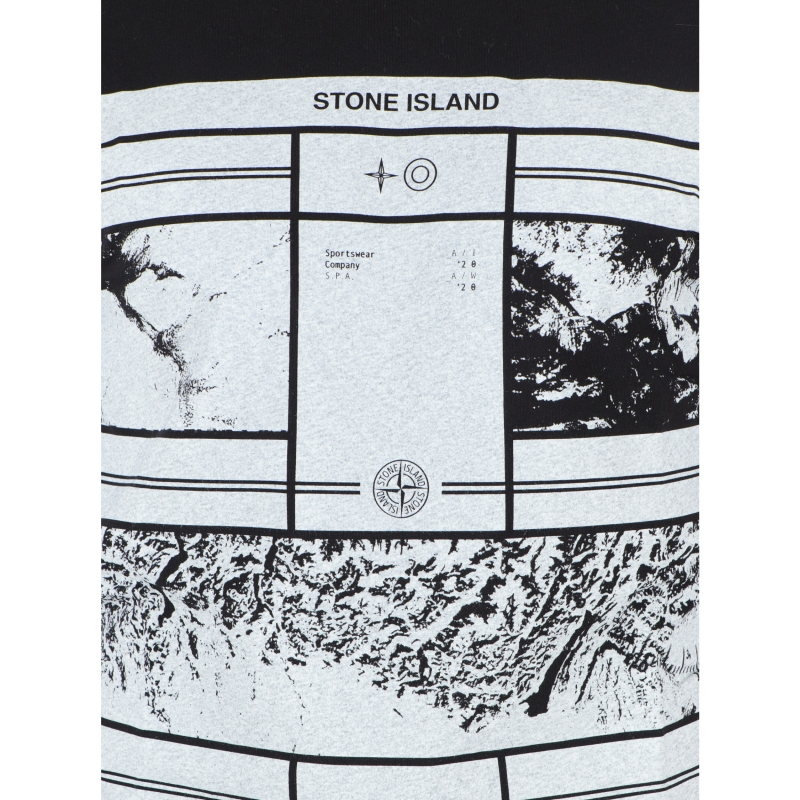 STONE ISLAND SHORT SLEEVE MURAL PART 2 T-SHIRT
