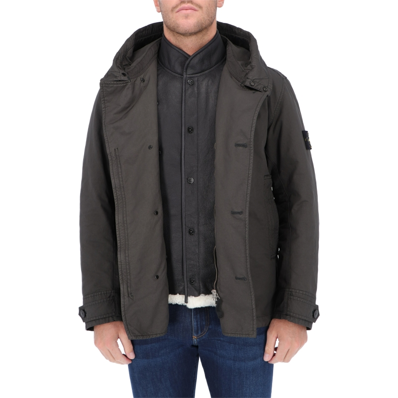 STONE ISLAND DAVID-TC WITH SHEEPSKIN_DETACHABLE LINING JACKET