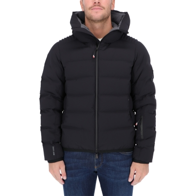 MONCLER LAGORAI DOWN JACKET IN STRECH NYLON
